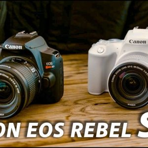 Canon Rebel SL3: Canon's Most Compact DSLR   First Look