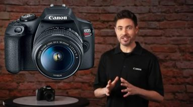 Canon EOS Rebel T7 DSLR Camera with 18-55mm Lens | Built-in Wi-Fi | 24.1 MP CMOS Sensor