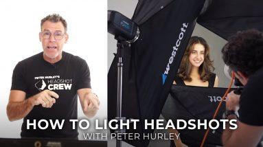 How to Light Headshots: Peter Hurley's 5 Tips