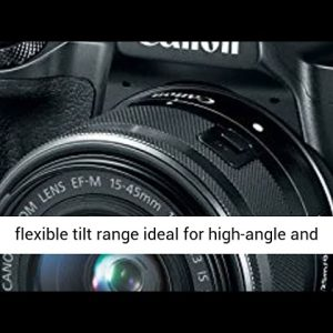 Canon EOS M50 Mirrorless 4K Vlogging Camera Bundle Kit with EF-M15-45mm + EF-M 55-200mm Lenses