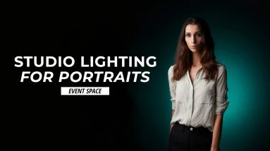 Studio Lighting for Portraits with Tony Gale   B&H Event Space